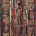 Икона Св. Георгия хранящаяся в киевском музее